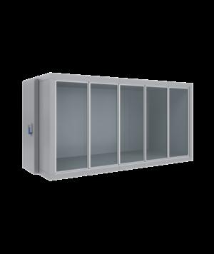 Холодильные камеры со стеклянным фронтом